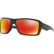 Oakley Double Edge Okulary rowerowe pomarańczowy/czarny